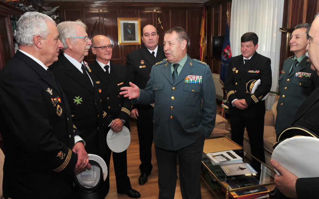Visita a la Dirección General de la Guardia Civil