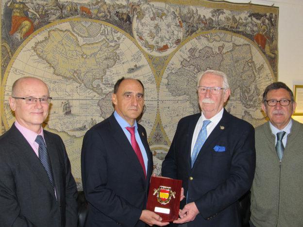 AECYR y la Real Liga Naval Española firman un Acuerdo de Colaboración