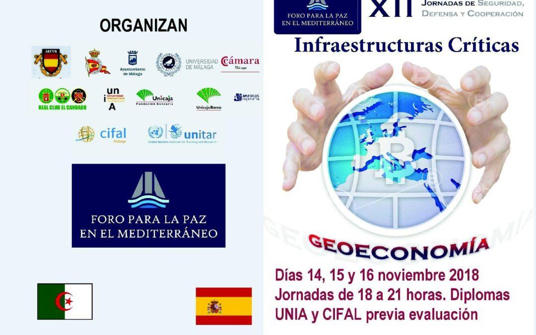 XII Jornadas de Seguridad, Defensa y Cooperacion