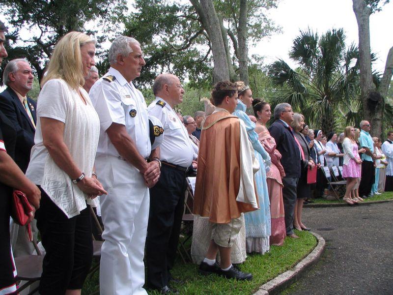 Conmemoración del descubrimiento de La Florida por Juan Ponce de León