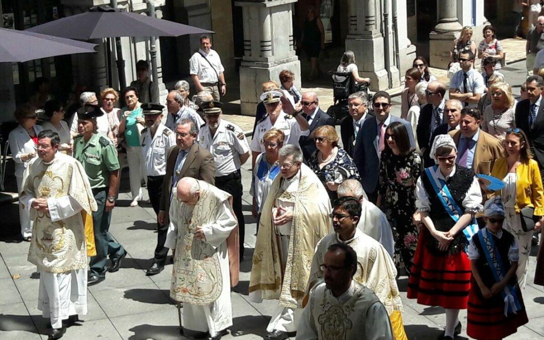 Corpus Christi en Asturias