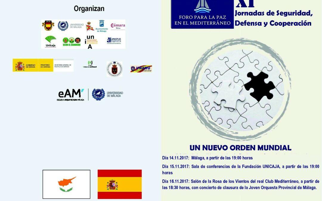 XI Jornadas de Seguridad, Defensa y Cooperacion