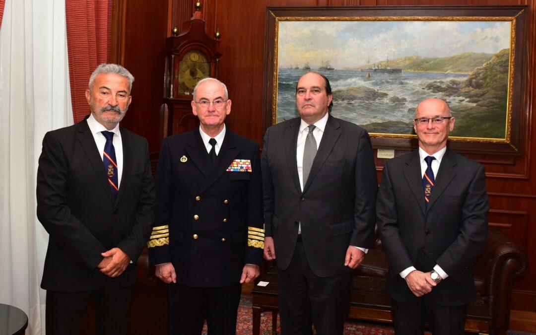El AJEMA recibe a la Delegación de AECYR