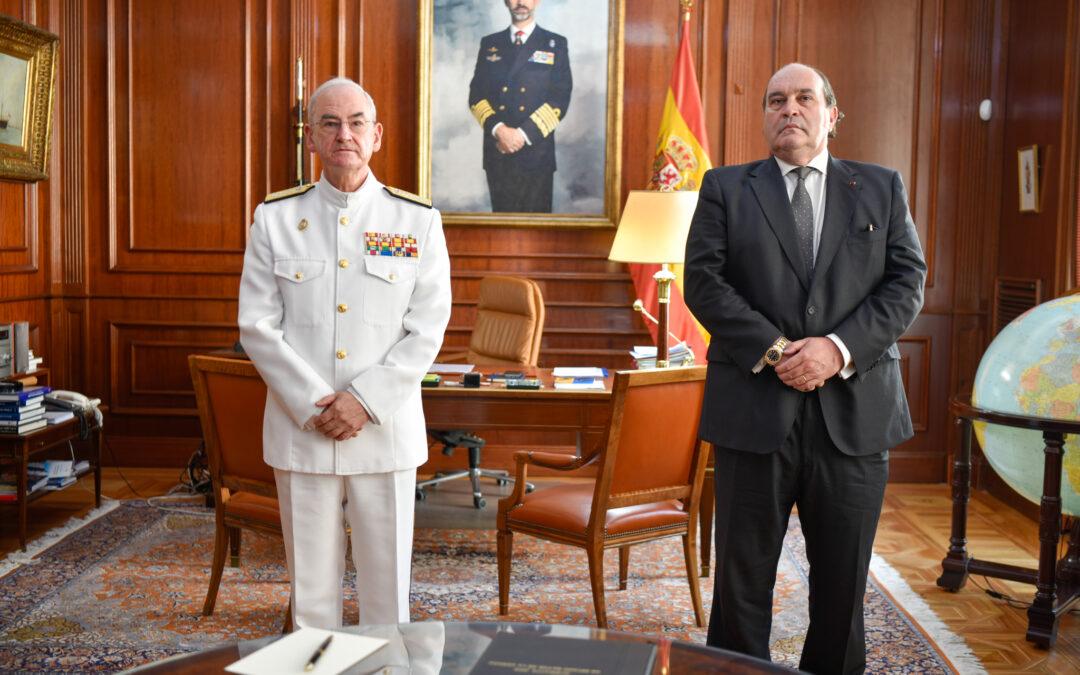 Firma de Declaración de Intenciones con la Armada Española