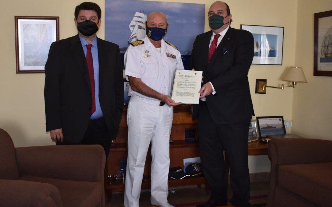Visita a la Comandancia Naval de Valencia y Castellón